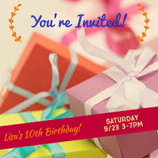 Birthday Invitation Card Maker Make Your Own Birthday Invitations For Free Adobe Spark