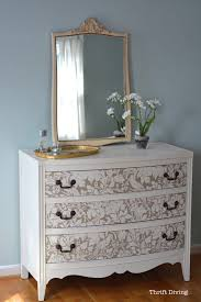 How To Repaint A Nightstand How To Paint A Dresser In 10 Easy Steps Thrift Diving Blog