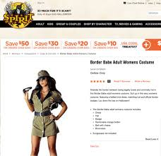 the outcry over border control halloween costumes is ridiculous