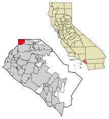 Torrance Zip Code Map by La Habra California Wikipedia