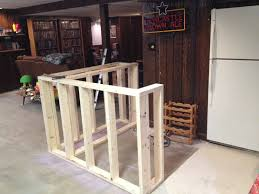 Basement Framing Ideas Most Interesting How To Build A Bar In Basement Best 25 Bar Plans
