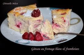 recette de gâteau au fromage blanc et framboises la recette facile
