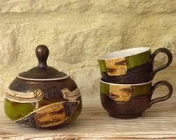 wedding gift kl ceramic coffee set rustic wedding gift pottery tea set