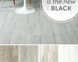 light grey laminate flooring for a spa zoneblack and white striped