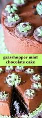 mint chocolate cake mint u0026 chocolate frosting u0026 grasshopper cookies