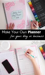 Diy Planner Template 2016 Diy Planner Blog Planner Free Printable Pages Melly Sews