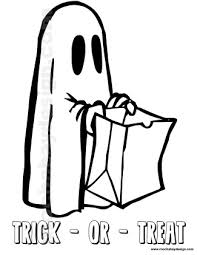 friendly ghost printable halloween kids coloring