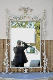 mirror black wrought iron mirrors captivating black wrought iron