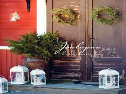 outdoor decorating ideas old fashion country christmas