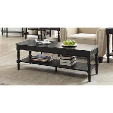 Country Coffee Tables by Convenience Concepts Oxford White Coffee Table 203082w The Home
