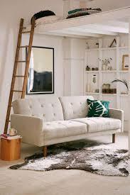 elegant sleeper sofa furniture dazzling wooden nice ladder and fascinating white cheap