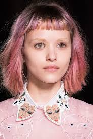 2016 hair and fashion rainbow hair at fashion week fall 2016 popsugar beauty australia