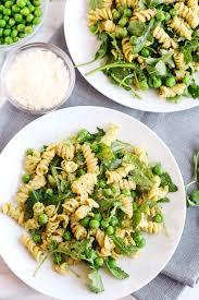 pasta salad pesto 5 minute pea arugula pesto pasta salad eat yourself skinny