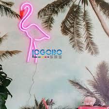 Flamingo Home Decor Aliexpress Com Buy New Flamingo Neon Signs Custom Art Business