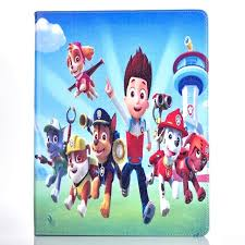 tablet case apple ipad 4 3 2 fashional paw patrol prints