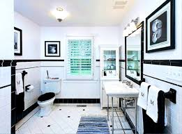 bathroom amusing contemporary black and white bathroom ideas