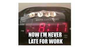 Alarm Meme - alarm clock meme work humor