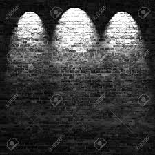 Brick Basement Walls Dark Brick Wall Background In Basement With Beams Of Light Stock