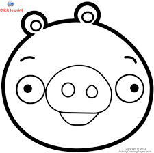 pig coloring pages angry birds space pig coloring pages u2013 kids