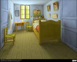 Chambre De Gogh - 3dvf com portfolio de casalonga francois cioccolo