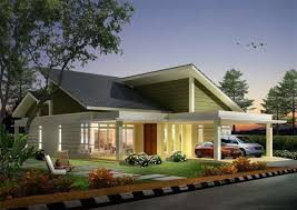 download single storey bungalow house design malaysia adhome