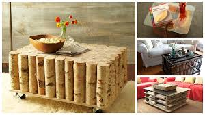 Creative Coffee Tables 20 Creative Diy Coffee And Side Tables The Home Design