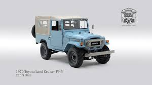 1970s toyota land cruiser 1970 toyota land cruiser fj43 blue
