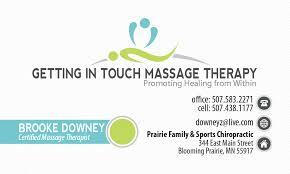 Sports Massage Business Cards Marketing Logo U0027s Flyers Business Cards