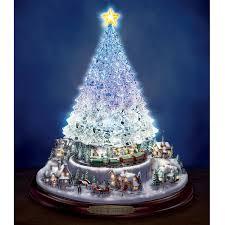Thomas Kinkade Christmas Tree For Sale amazon com thomas kinkade crystal tabletop christmas tree lights
