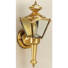 Westinghouse Lighting Fixtures Westinghouse 1 Lights Antique Brass Outdoor Wall Lantern 66963
