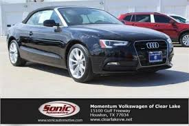 audi houston used audi a5 for sale in houston tx edmunds