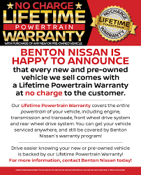 nissan rogue jackson tn lifetime powertrain warranty
