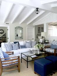 blue and white casual beach cottage beach cottages beach and