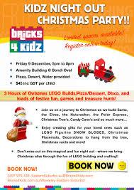 christmas party bricks 4 kidz sydney eastern suburbs