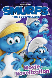 smurfs lost village movie novelization book stacia