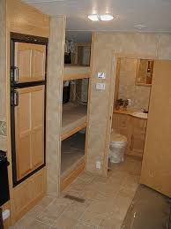 camper with triple bunks google search camper pinterest rv