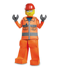 construction worker costume disguise youth lego construction worker prestige costume ebay