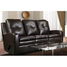 Elran Reclining Sofa 90436 Power Reclining Leather