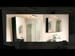 bathroom cabinet with mirror and light and shaver socket designer