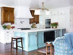 tv in kitchen ideas turquoise kitchen island cottage kitchen pulliam morris