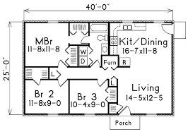 house plans 1000 square 1000 square 3 bedrooms 1 batrooms on 1 levels floor plan