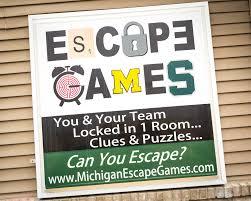 michigan escape games can you escape in time