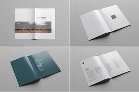 free download layout company profile company profile print template