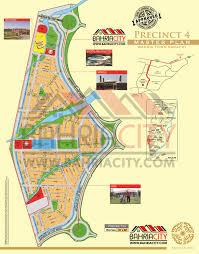 bahria town karachi all precincts maps bahria city