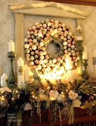 fireplace remarkable christmas mantel decorations with gold