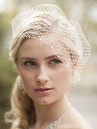 wedding veils for sale net visor birdcage veil with swarovski crystals