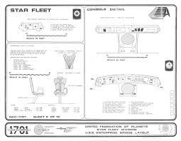 Uss Enterprise Floor Plan by Enterprise 1701 Bridge Blueprints