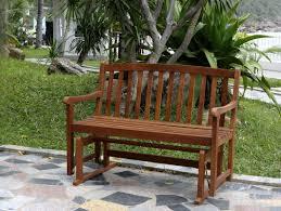 Hardwood Garden Benches Glider Outdoor Benches You U0027ll Love Wayfair
