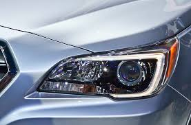 subaru headlight styles 2015 subaru legacy first look motor trend