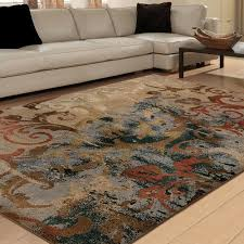 Buy Area Rug Free Shipping Buy Orian Rugs Soft Scroll Multi Colored